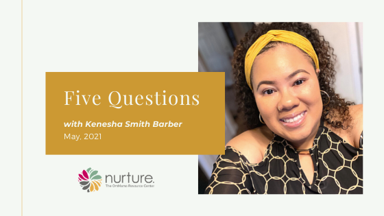 Five Questions – with Kenesha Smith Barber