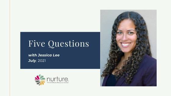 Five Questions – with Jessica Lee